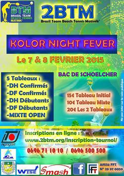 Beach Tennis Kolor Night Fever (Agrandir l'image).